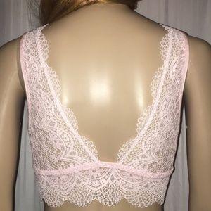 Victoria's Secret Intimates & Sleepwear - LAST ONE!!! New Victoria's Secret Deep V Crop Bra